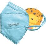CE zertifizierte Kinderschutzmaske FFP2 blau